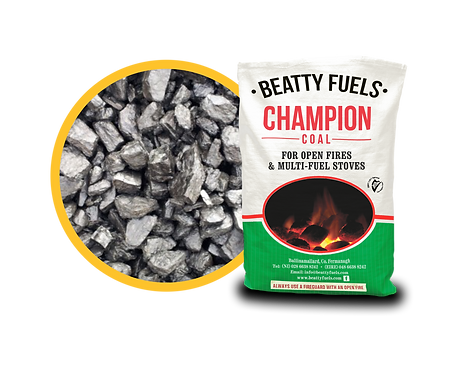 Champion Coal 25kg (per tonne)