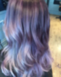 lavendel hair color, hårfärg