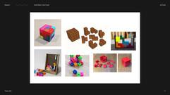 Visual Board: Cube Puzzle