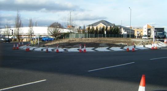 PETTIT roundabout work