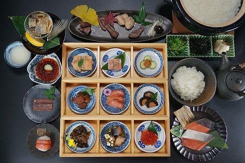 鮭料理 二十一品