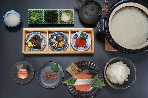 鮭料理 七品