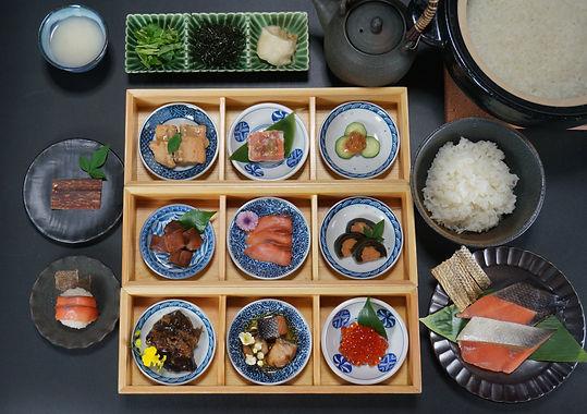 鮭料理 十三品