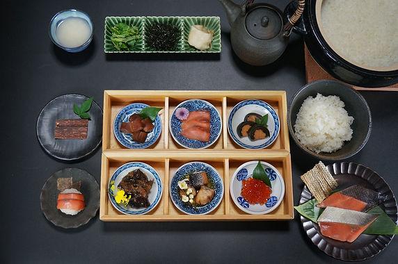 鮭料理 十品