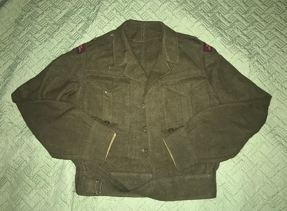 Genuine Royal Canadian Army Medical Corps Battle Dress Blouse, Major Attributed