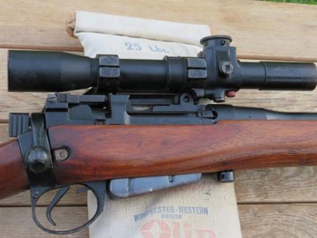 1943 BSA No4Mk1 T Sniper Restoration