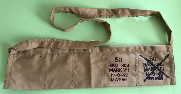 British 303 WW2 Bandolier Reproduction - Double Fill Stamps