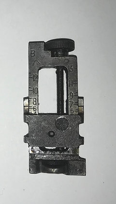 """Lee Enfield No4 Rifle """"Singer"""" Milled Micrometer Sight"""