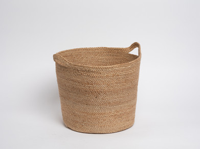 Conical basket with handles
