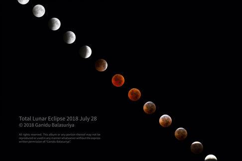 July 2018 lunar eclipse