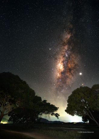 Under billions of stars
