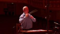 Benjamin Pope conducting