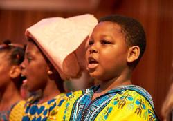 Boy singing Zambezi 2017 by C Totman