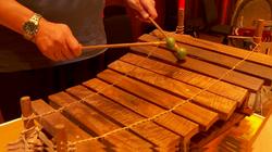 Close up percussion