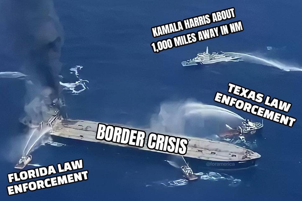 "Recapping Kamala's trip to the ""border."""