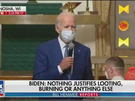"Biden: ""They'll Shoot Me"""