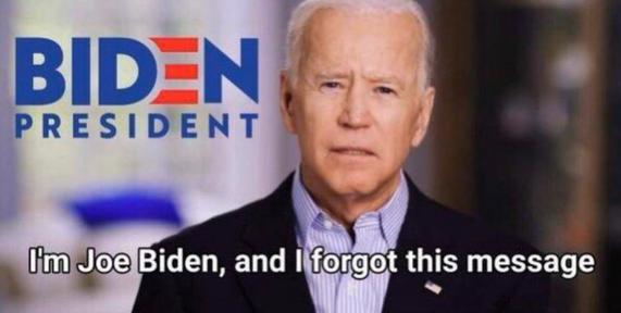 Joe Forgets Sometimes