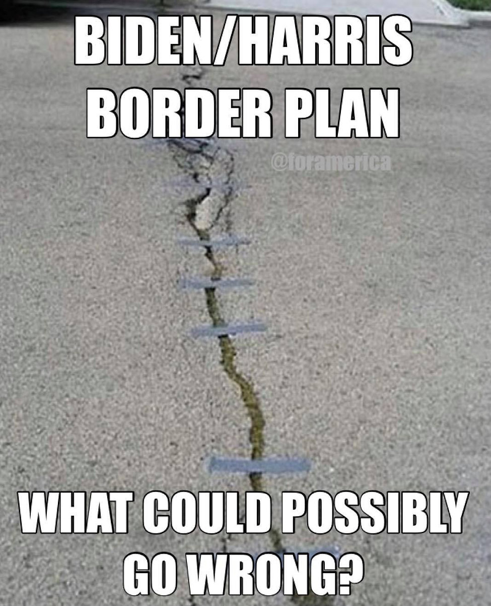 Still entering the country in droves. Finish the wall.