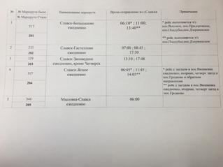 Новая маршрутная сеть Славского района.