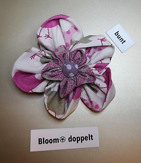 Broschen Bloom  Doppelt Bunt * NEU *