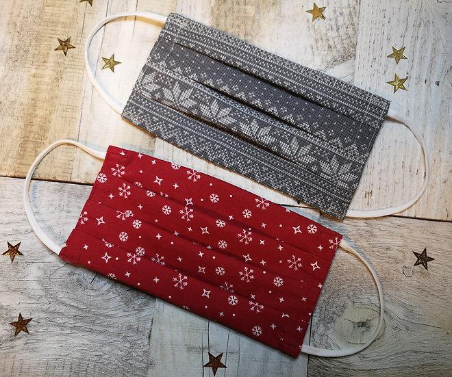 Winteraktion 2 x Mundschutz Frauen in Geschenkverpackung