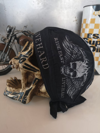LIFE TO RIDE Biker Bandanas by Stephanie Salzmann