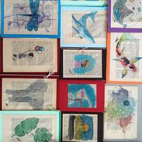 Aquarell Karten Fay © Skullitas.com