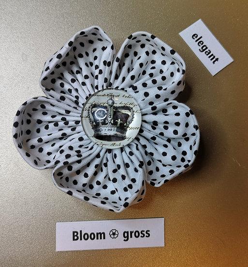 Broschen Bloom Gross Weiss