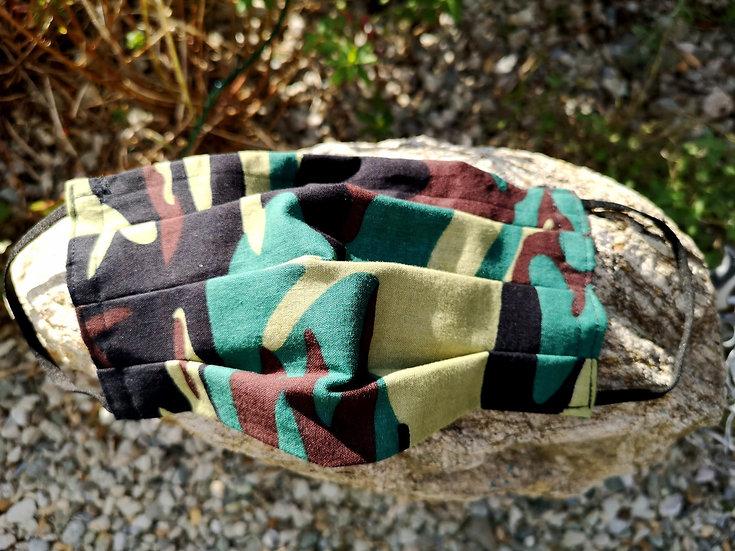 Skullitas Herren - Camouflage - Tarn - Mundschutz * NEU *