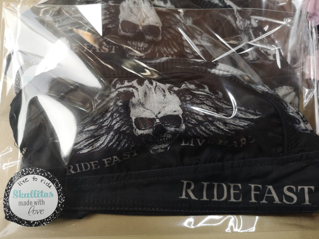 LIFE TO RIDE - Biker Accessoires by Skullitas.com