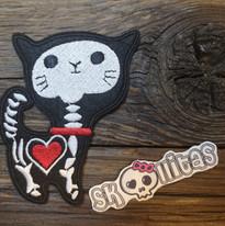 Dies und Das Katze Aufbügelbild by © Skullitas.com