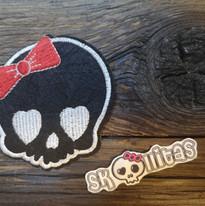 Dies und Das Skull schwarz by © Skullitas.com