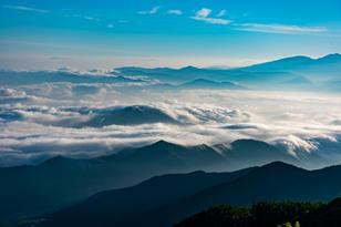 美ヶ原高原(道の駅「美ヶ原高原」周辺)から見る雲海