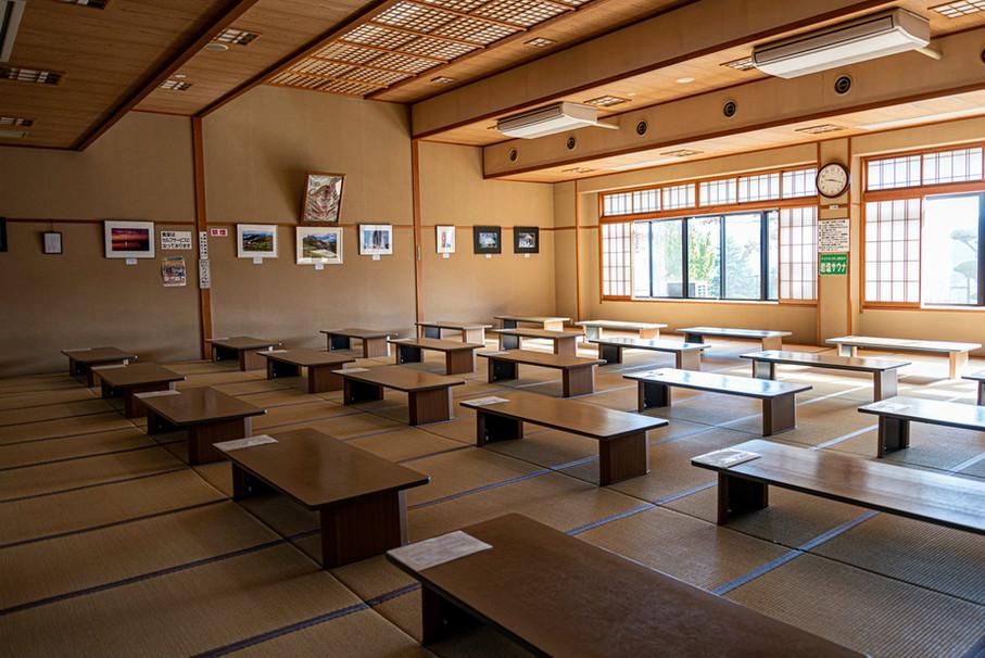 武石温泉うつくしの湯/食堂