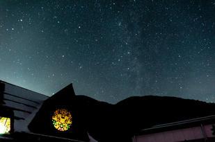 武石観光センター周辺から見る星空