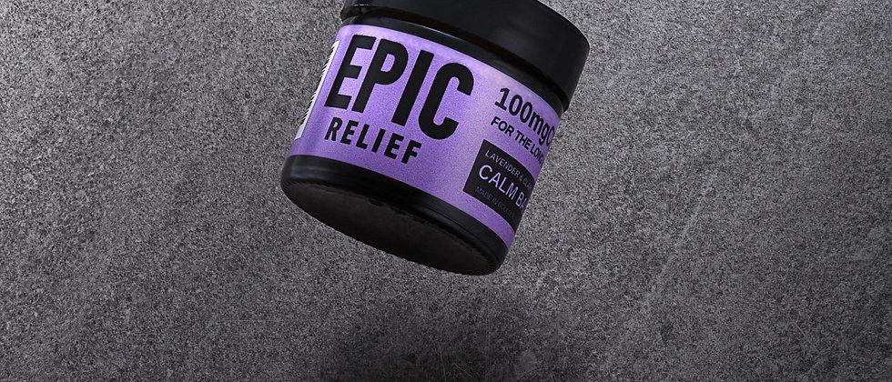 Epic Relief Calm Balm 100mg CBD / 1OZ