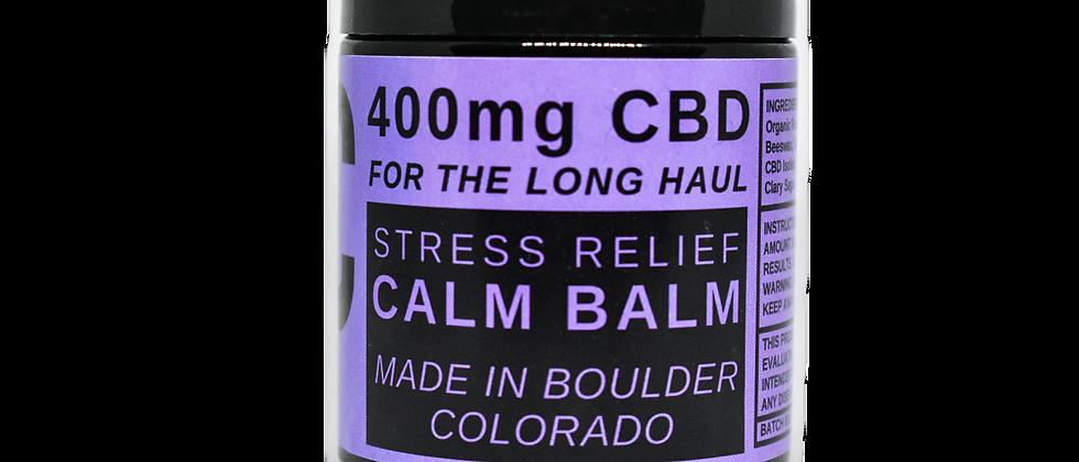 Calm Balm - 400mg CBD / 4oz - Tension Relief Topical