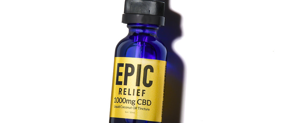 Epic Relief 1000mg Tincture