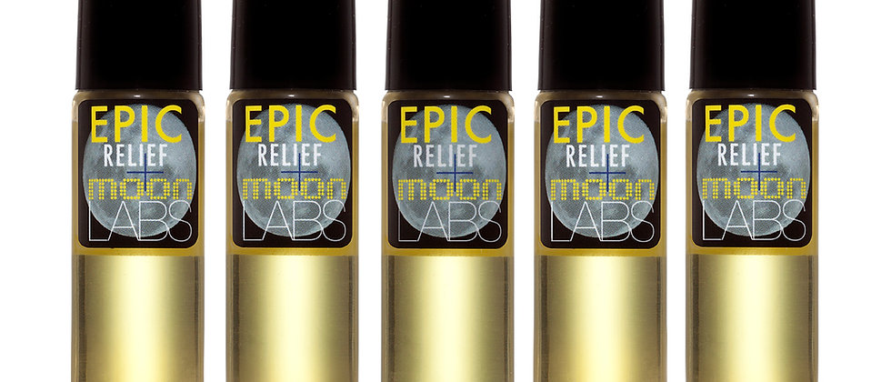 Moon Labs × Epic Relief / 500mg Essential Oil Roll-On Blends