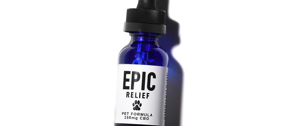 Epic Relief 150mg CBD Pet Formula