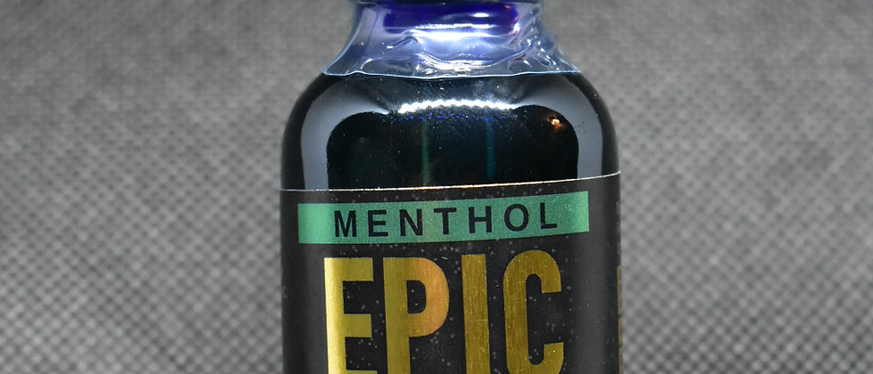Menthol-Flavored 1200mg Full Spectrum Tincture