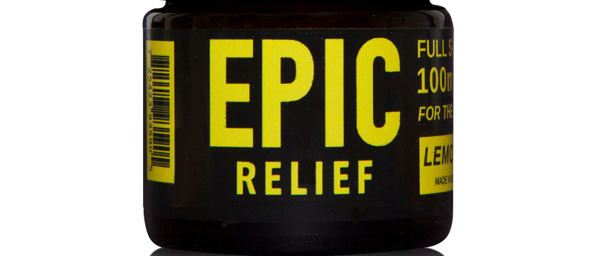 Epic Relief 100mg Full Spectrum CBD Balm - Lemongrass