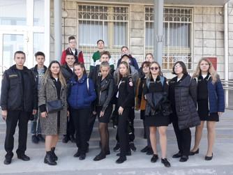 Экскурсия ПЕРВОГО ЭКИПАЖА ЮМС ВОСВОД в ВолГАУ