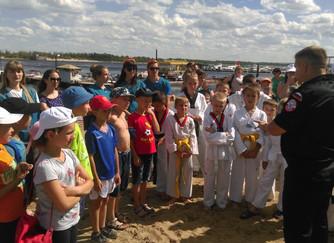 Акция «Безопасная Волга» - пляж Тулака