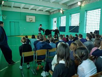 Профилактическая беседа в школе №2 г. Михайловки