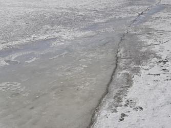 Профилактический рейд на лед с инспекторами ГИМС