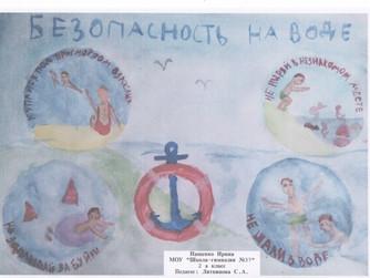 Работы призеров и победителей Конкурса детских рисунков