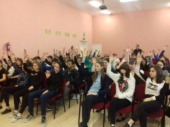 Профилактическая беседа в школе №8 г. Урюпинска