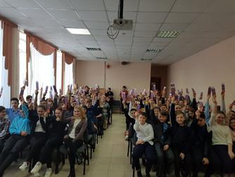 Профилактическая беседа в школе №31 г. Петров Вал