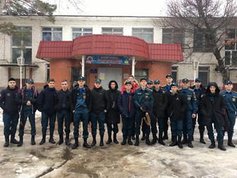 Профилактическая беседа со студентами ВМЭТ по Правилам безопасности на воде зимой